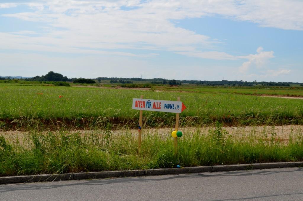 Auf diesem Gelände soll das neue Wohngebiet Freiham entstehen.