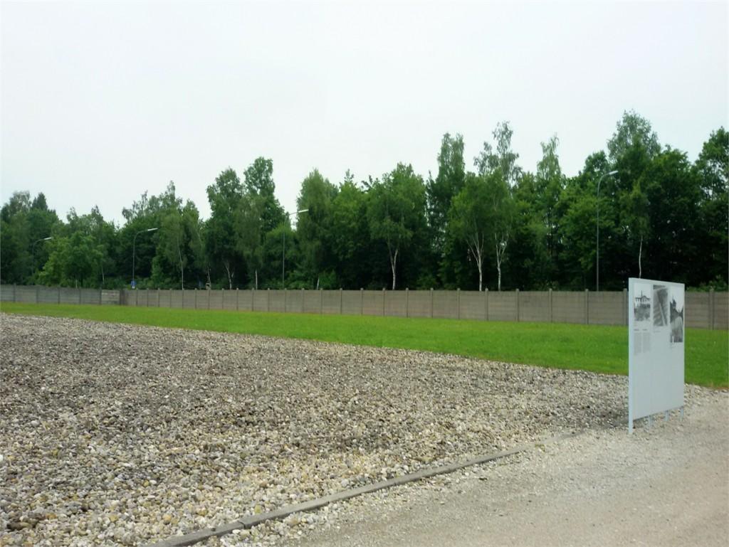 Abb. 5: Heute ist der ehemalige Standort des Lagerbordells leer. Foto: privat